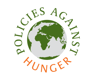 Logo policies against hunger